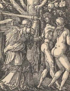 durer expulsion from paradise carving