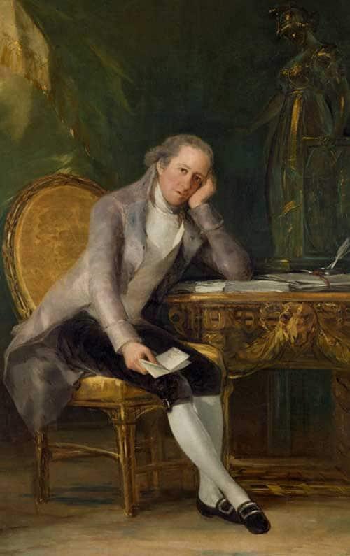 Goya. Gaspar Melchor de Jovellanos. Madrid Tourist Guides Blog